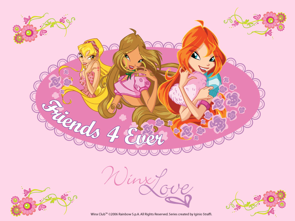 the winx club fansite!